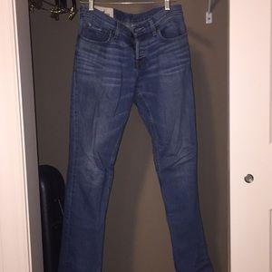 Hollister light blue wash skinny jeans